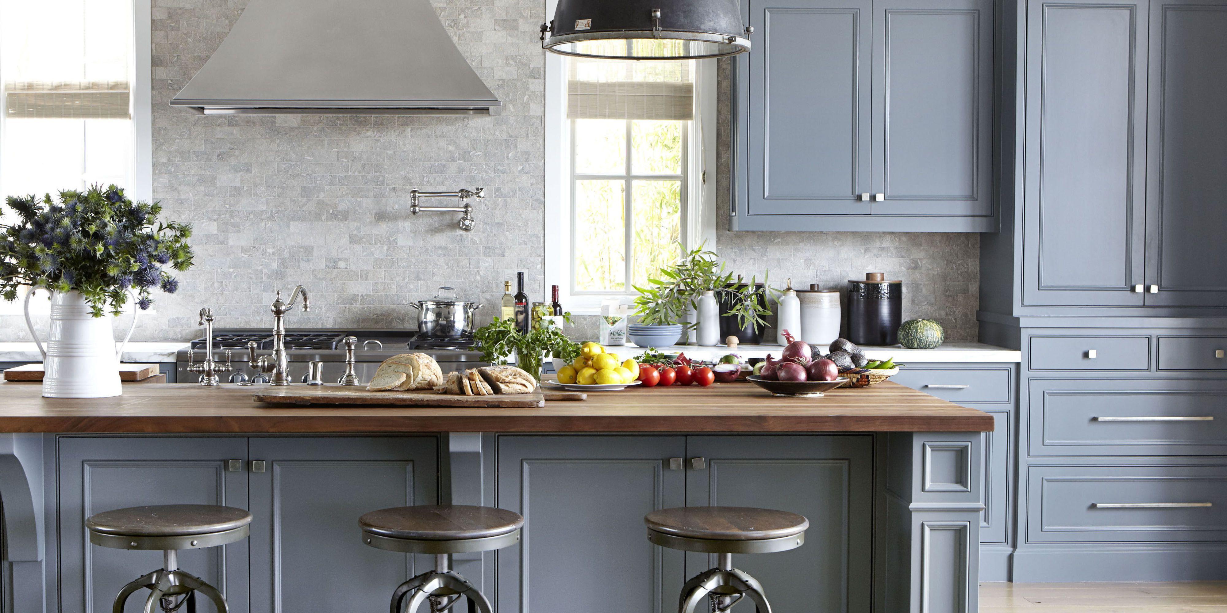 home painting ideas gray kitchen KFGAWSR