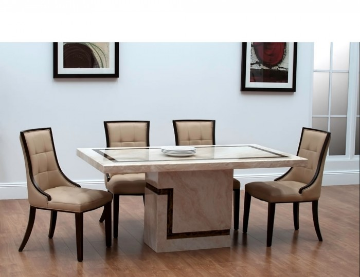 horsham marble dining table and chairs GGOTSXR
