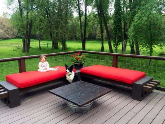 how to make a cinder block bench: 10 amazing ideas to BHDDKCF