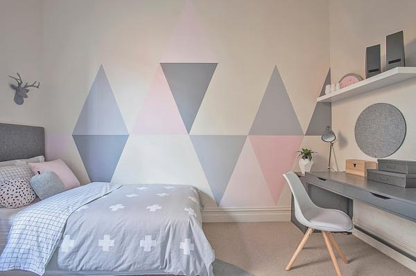 if youu0027re looking for unique girls bedroom ideas, consider painting FLIOPYY