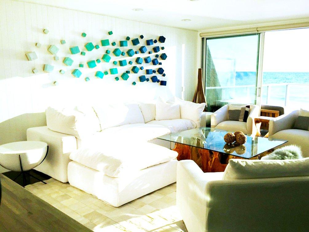 image of wood wall sculpture | modern wall decor | 3d BSTUNJV