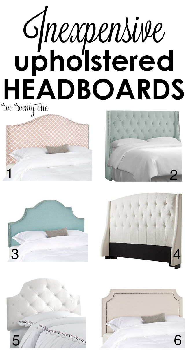 inexpensive upholstered headboards VWCVWIK