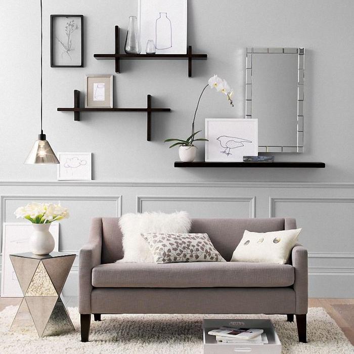 inspiring living room wall decor ideas ZWKNUGA