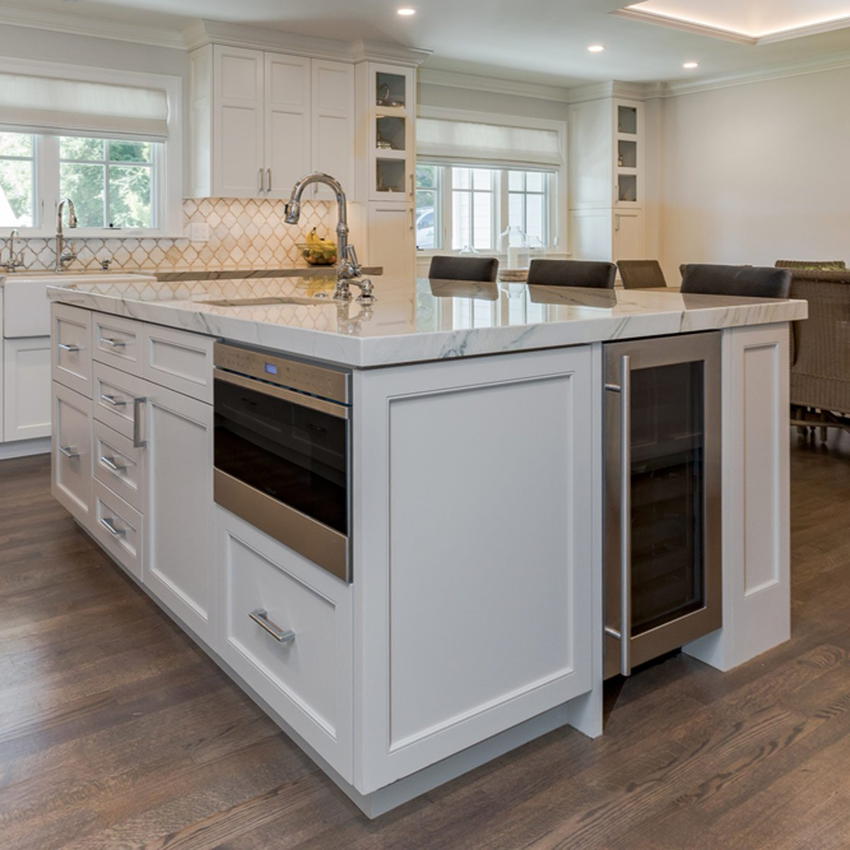 integrate appliances into your kitchen island IDTATSK