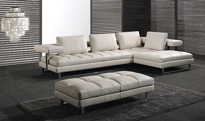 italian leather sofa pl0071 by planum ZJQBLWF