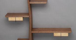 kanji by brian hubel (wood shelf) | artful home CWRVOAE