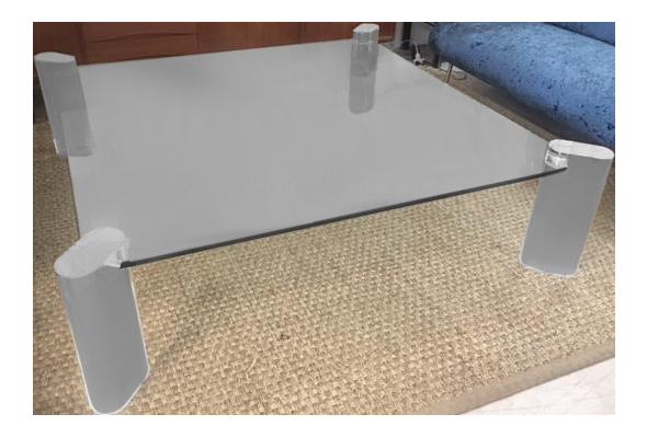 karl springer lucite coffee table | chairish QPAHHUK