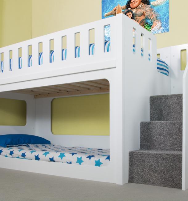 kids bed deluxe funtime bunk bed - bunk beds - kids beds - JUGPKWV