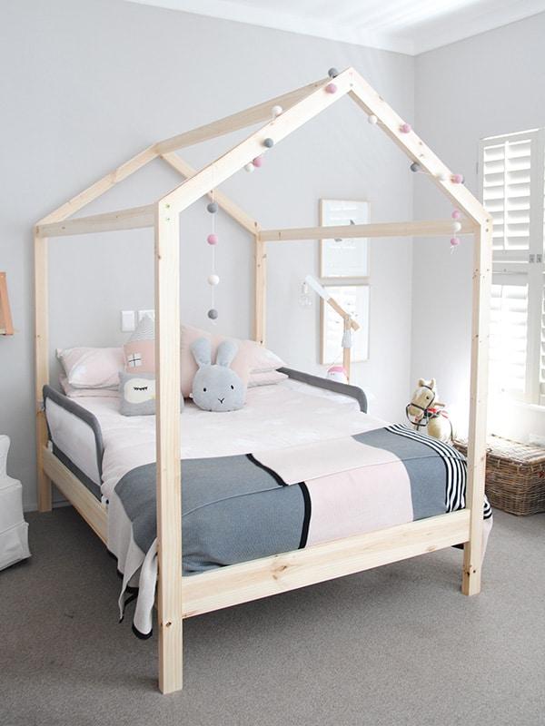 kids bed ... headboards/kids house bed. ;  LBHKBZB