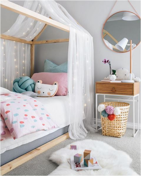 kids bedroom girlu0027s room decor with pastel colors, scandinavian style modern kids room JLIXHRA