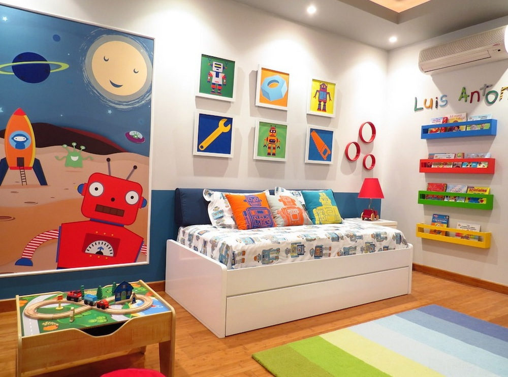 kids bedroom kids colorful bedroom HRMVBQX