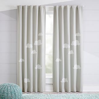 kids curtains cloud blackout curtains ERGWTSC