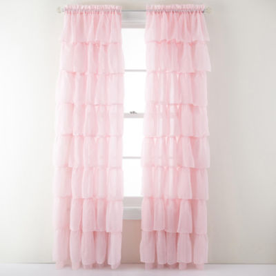 kids curtains sheer curtain panels kids u0026 teens for window - jcpenney ZMBQMHM
