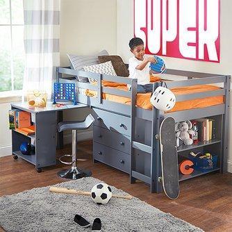 kids loft bed loft beds for kids PPIXSXQ