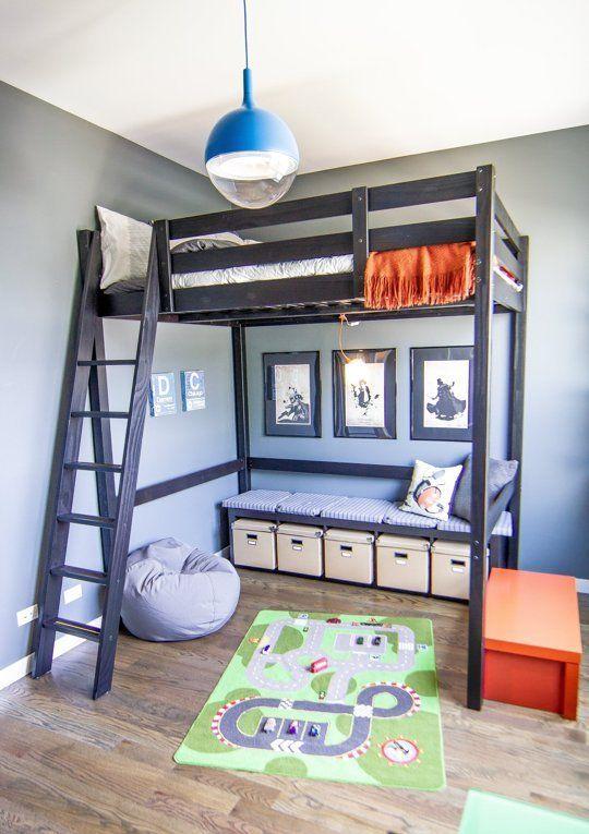 kids loft bed raise the roof: kidsu0027 loft bed inspiration @melissa arreola good ideas DRZCBLX