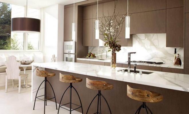 kitchen bar stools 15 ideas for wooden base stools in kitchen u0026 bar decor DNCHYJR