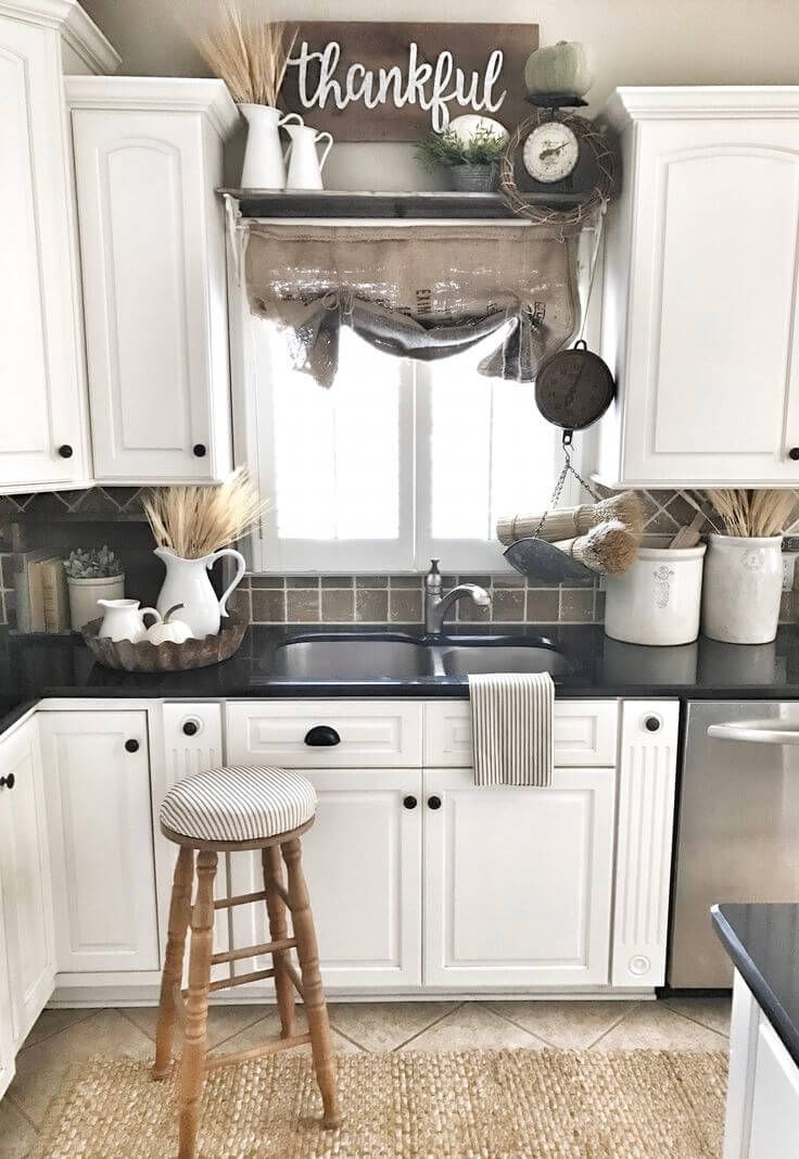 kitchen decorations 38 dreamiest farmhouse kitchen decor and design ideas to fuel your TPVJXTY