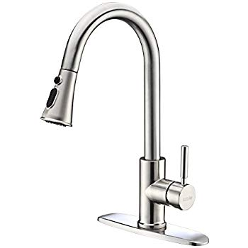 kitchen faucet kitchen faucets with pull down sprayer - kablle commercial single handle LZMWXGU