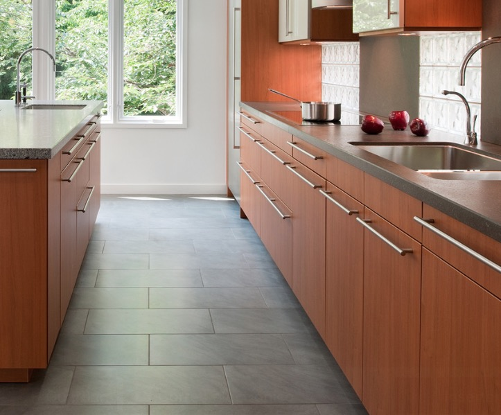 kitchen flooring with tiles kitchen flooring ideas and materials - the ultimate guide IBYJJYS
