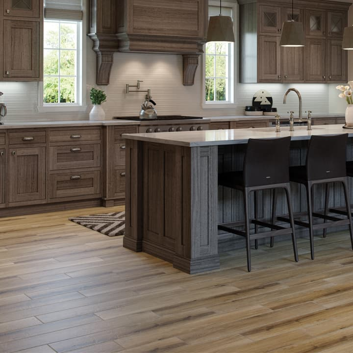kitchen flooring with tiles wood look tile on the kitchen floor AKEPTLE