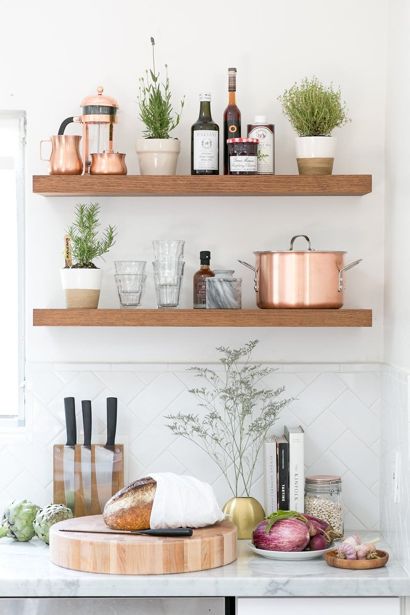 kitchen shelves 100 layer cake shows you what cookware and appliances to register DCRFMRB