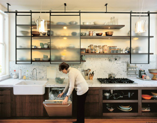 kitchen shelves top 22 extraordinary kitchens with open shelves ERMOAZE