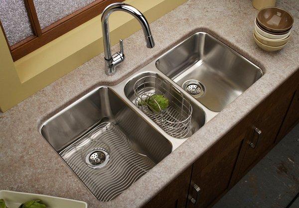 kitchen sinks designs double basin kitchen sink ZGKZPDV