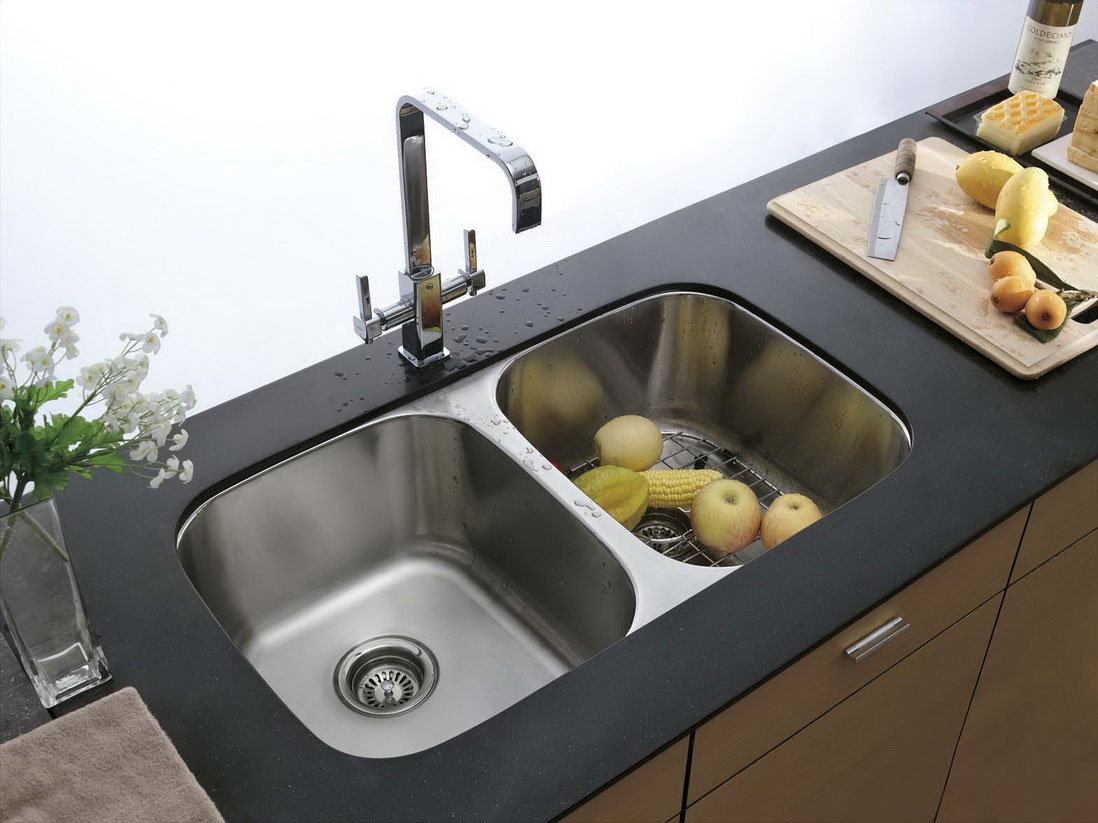 kitchen sinks designs double kitchen sinks best with images of double kitchen model at IRJDWHP