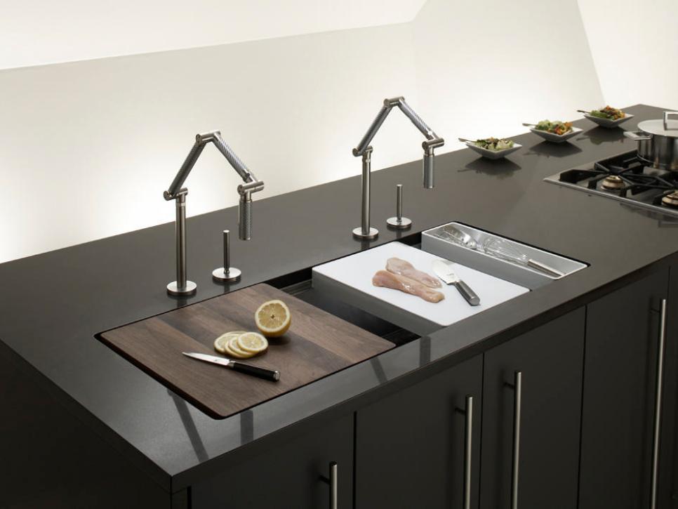 kitchen sinks designs iron island sink: industrial design VUGGMEH