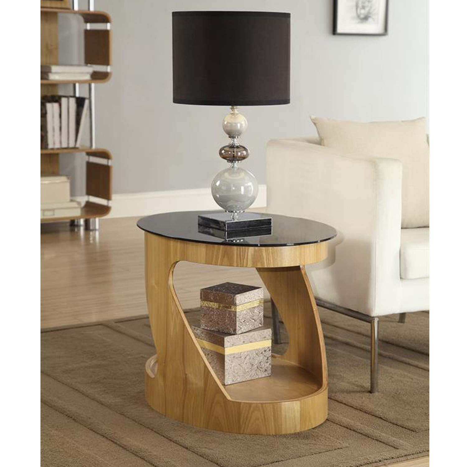 lamp tables jual furnishings curved oak oval lamp table VFOCMHG