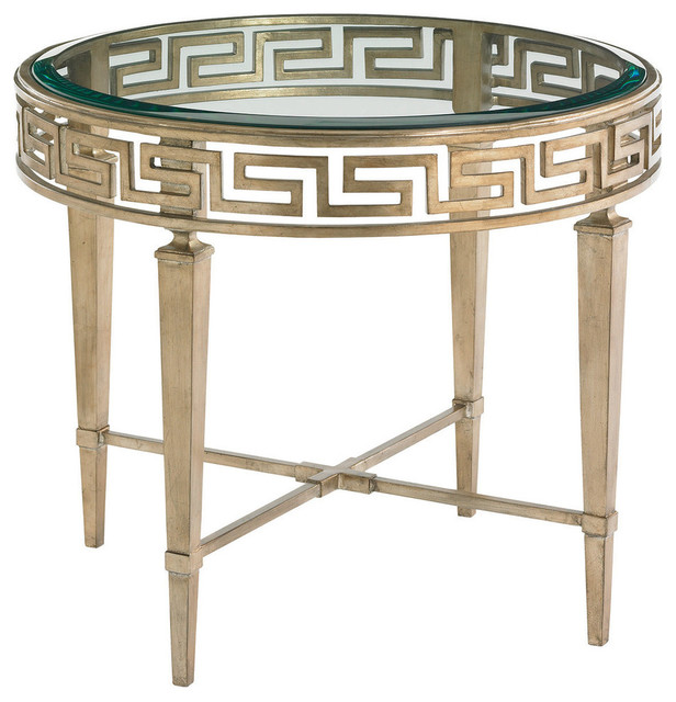 lamp tables lexington tower place aston round lamp table 706-951 IGHMSMR