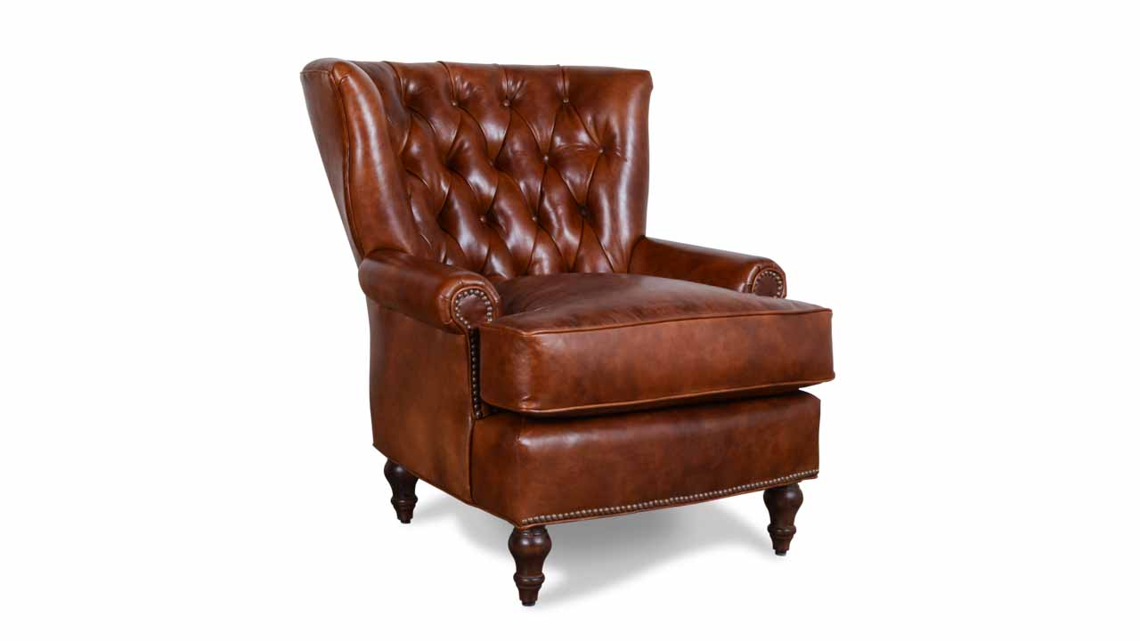 leather chairs blanton leather chair cambridge pecan DRUDYCX