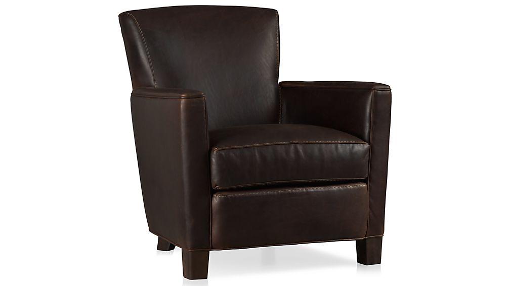 leather chairs briarwood leather chair UBAQFLG