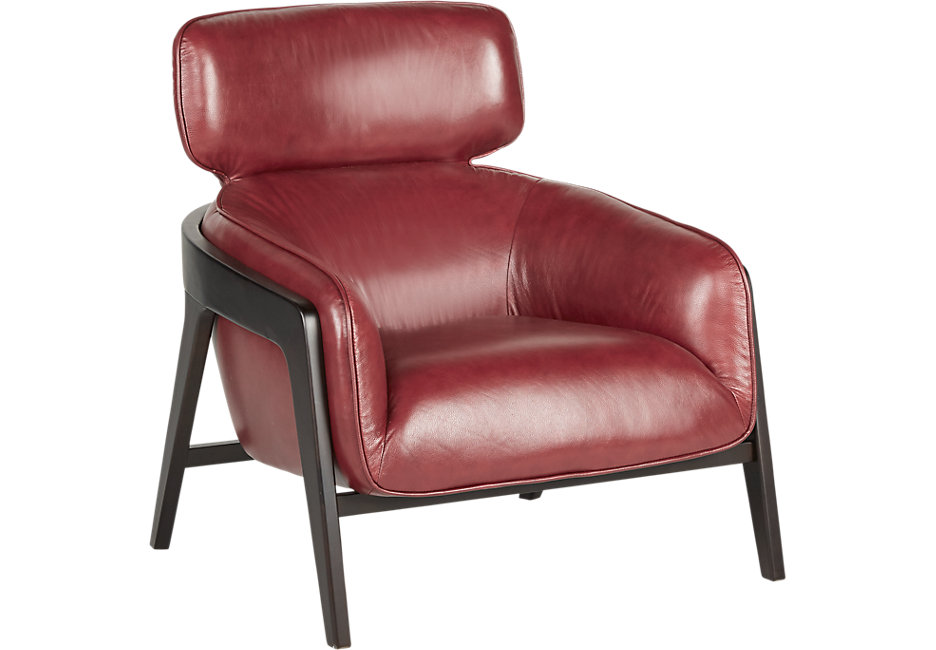 leather chairs don red leather chair EORNBDW
