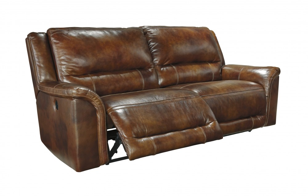leather recliner sofa jayron - harness - 2 seat reclining sofa PTVUQRC