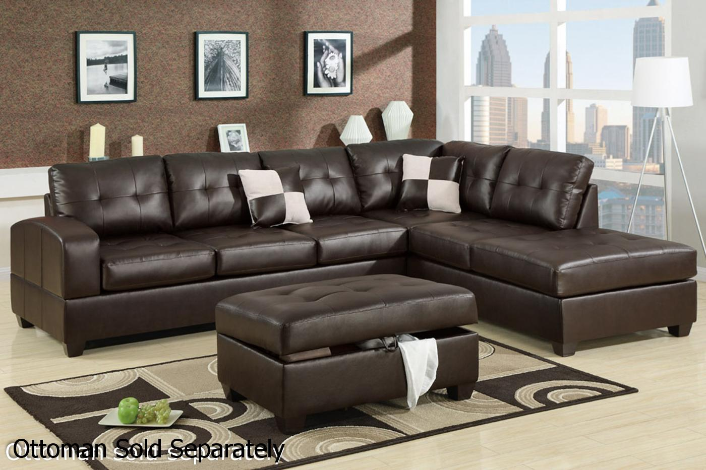 leather sectional sofas reese brown leather sectional sofa HDMKXXO