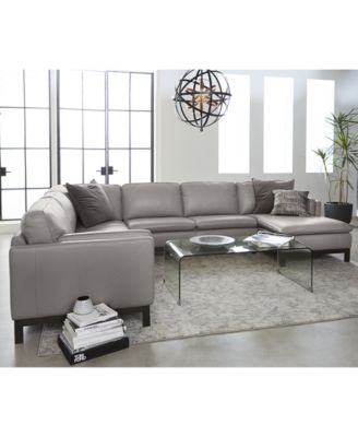leather sectional sofas this item is part of the ventroso leather sectional and sofa HJWACKM