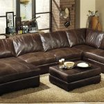 Leather sectional sofas for the living room