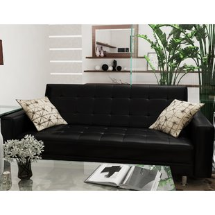 leather sofa bed spirit lake sleeper loveseat BKEKEKO