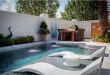 ledge lounger: the ultimate u201cin-wateru201d pool furniture PQUOCCV