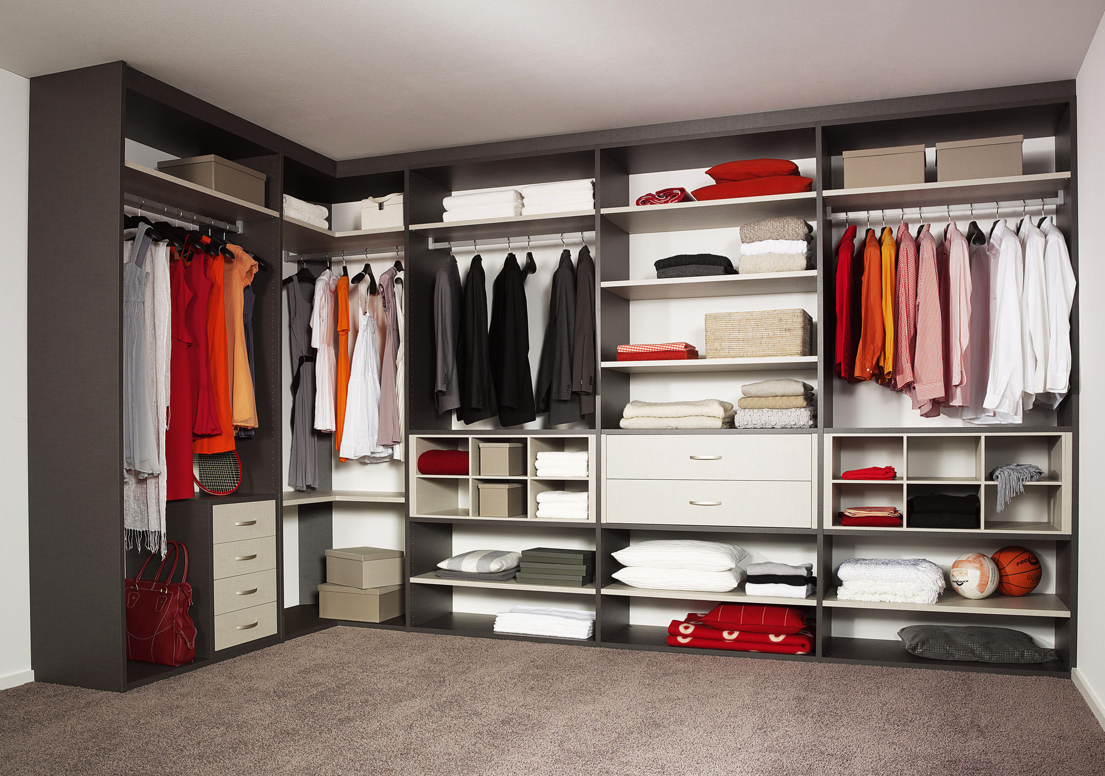 legno interior closet storage system by raumplus | walk-in wardrobes FRNTFKK
