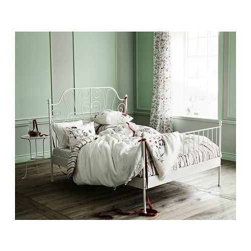 leirvik bed frames leirvik bed frame white. back to all products KSSRNTW