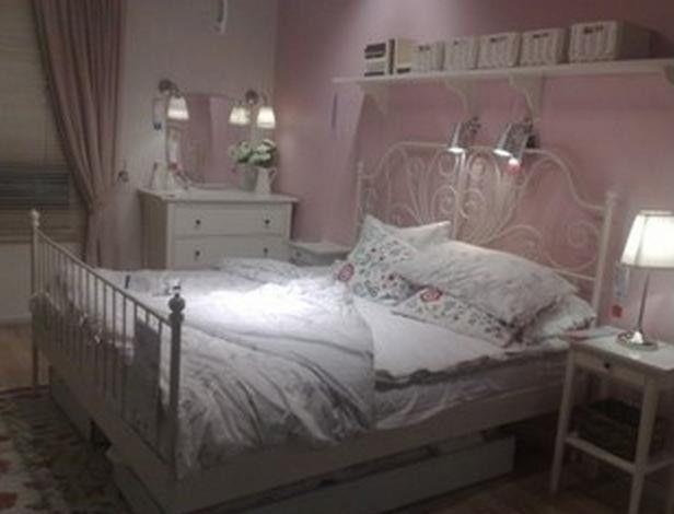 leirvik bed frames leirvik bed frame with luroy slatted bed base - zoomly KNDJFXE