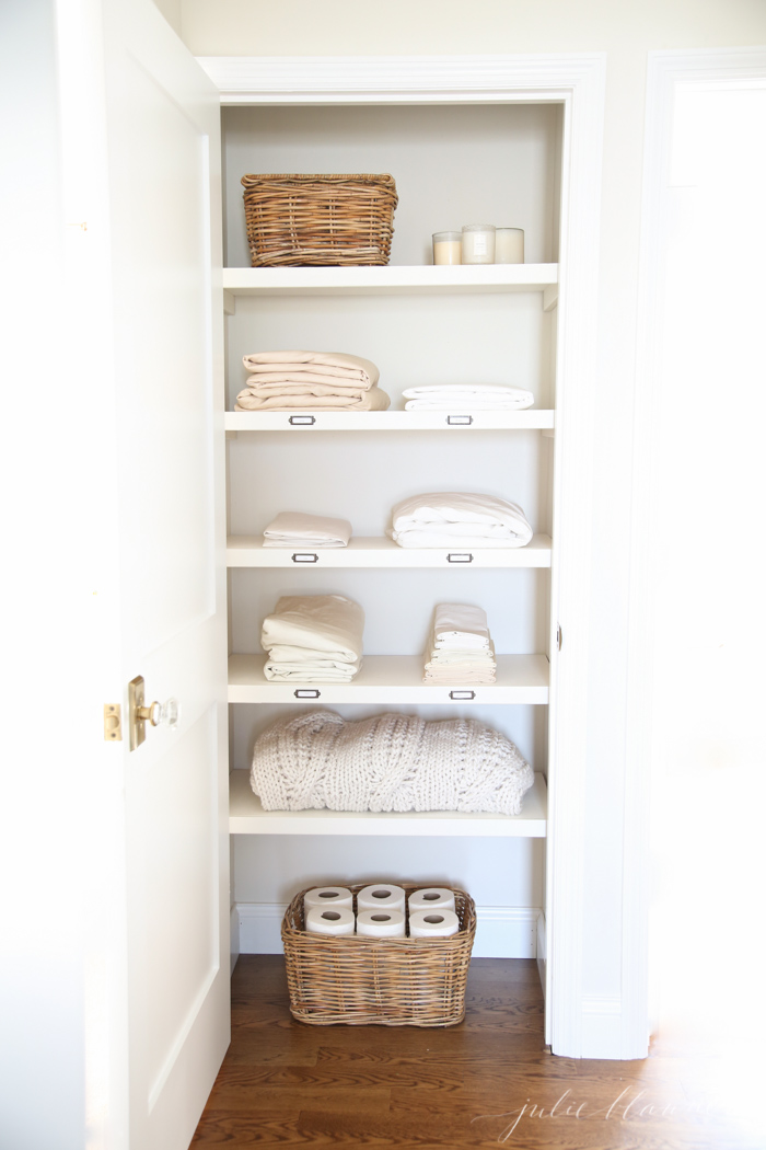 How to Organize Your Linen Closets For Functionality