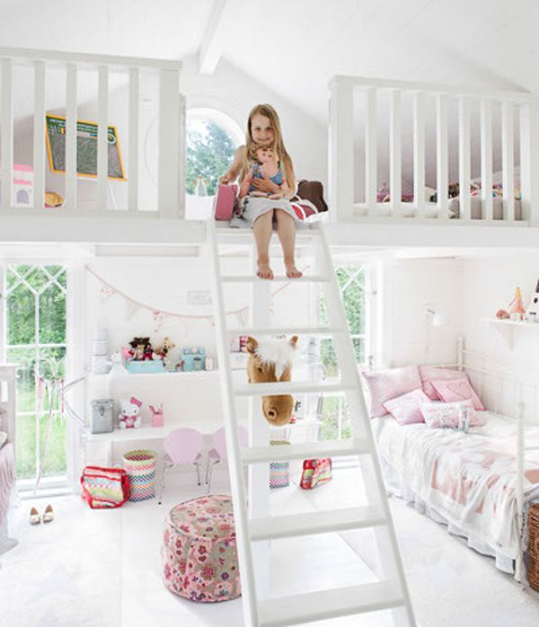little girls bedroom ideas | bedrooms is designed for two little GZITNHE