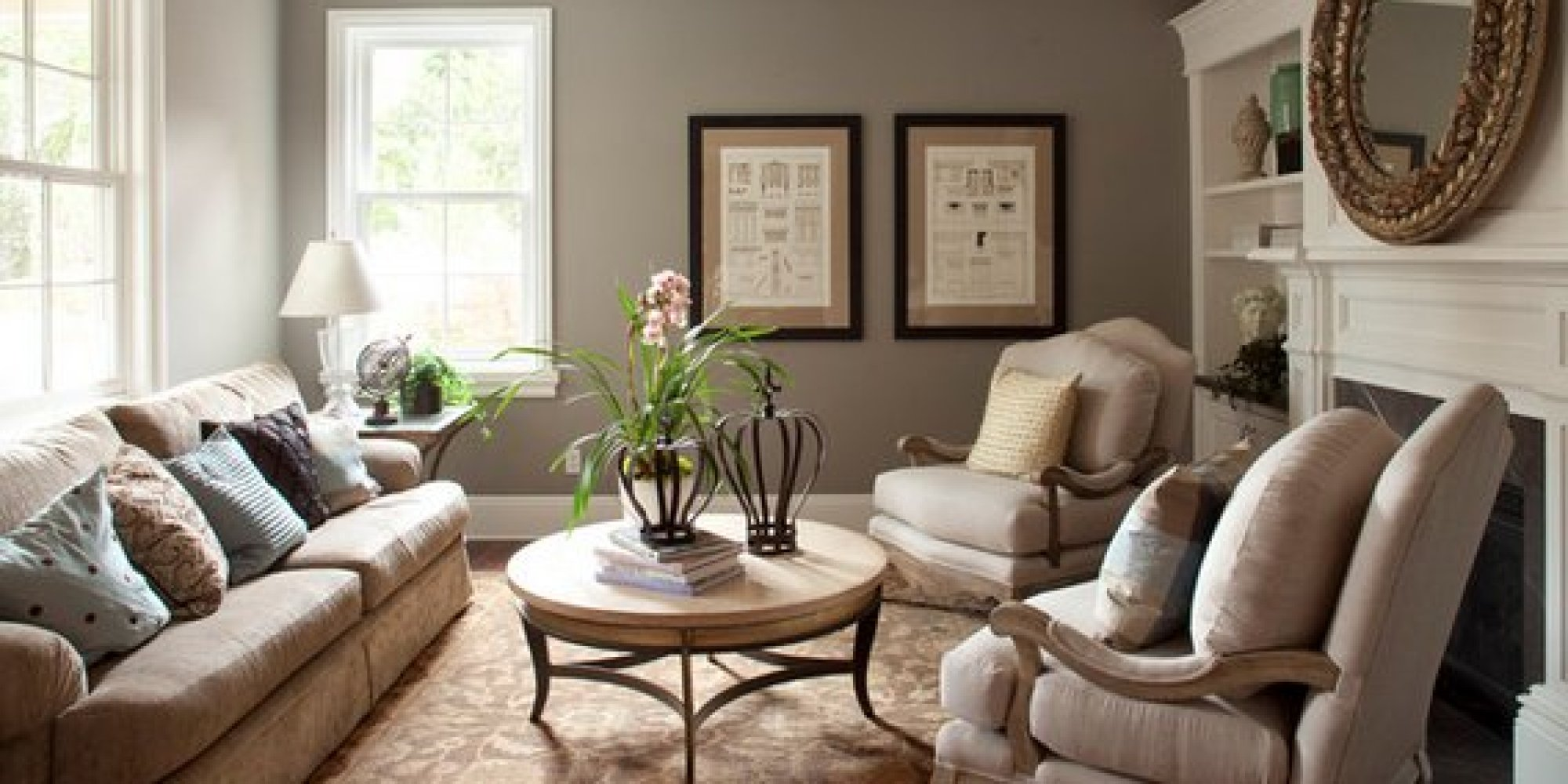 living room paint colors the 6 best paint colors that work in any home | WOBKHGB
