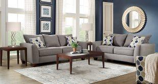 living room set bonita springs gray 5 pc living room - living room sets PPWJAHS