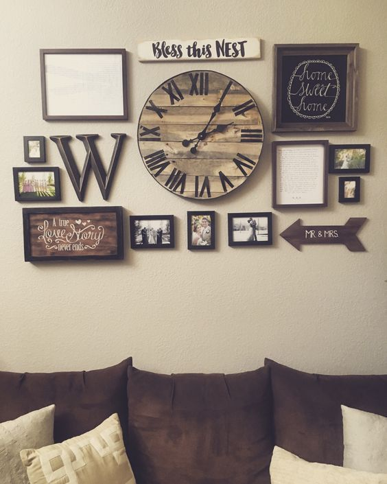 living room wall decor 25 must-try rustic wall decor ideas featuring the most amazing intended NOUBMWX