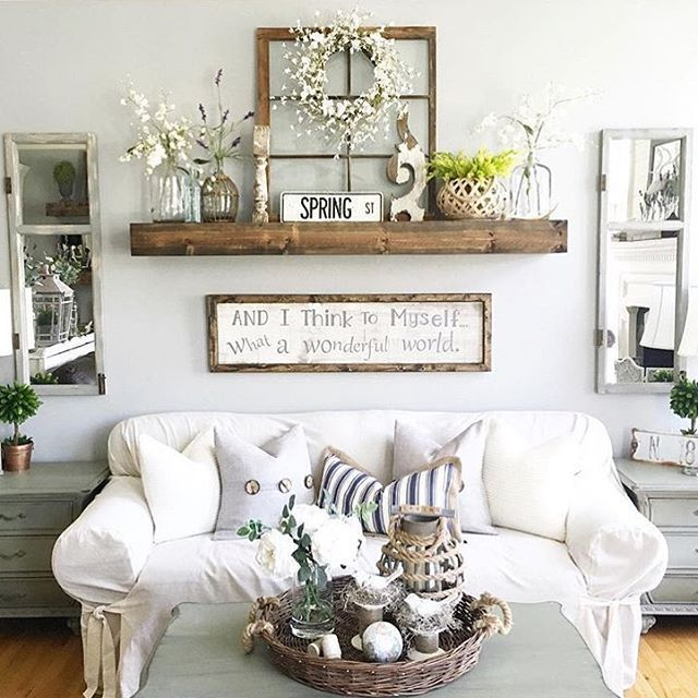 Living Room Wall Decor for a Vibrant Environment