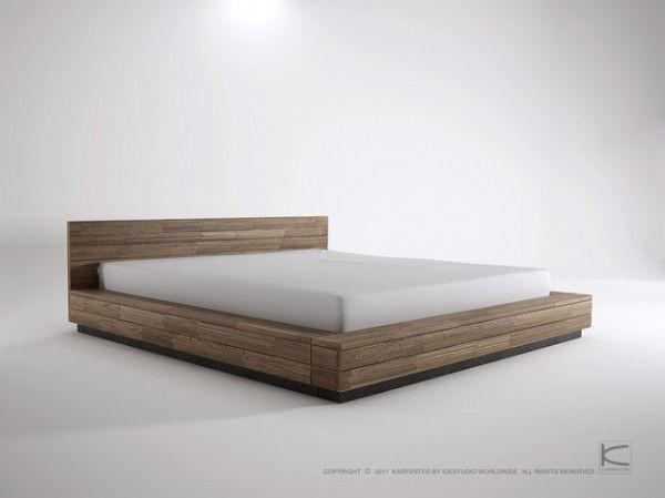 low bed frames king lurrai UQNFMPE
